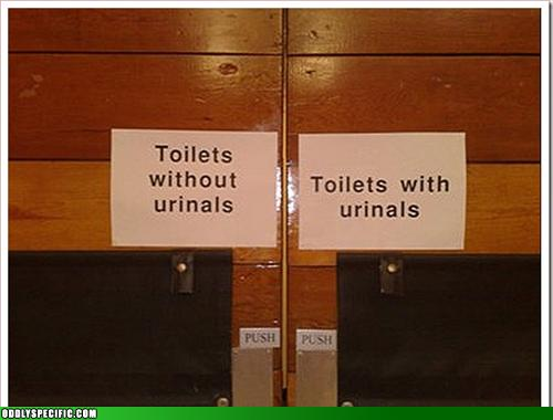 Funny Signs - I'll Take Mine With, Please