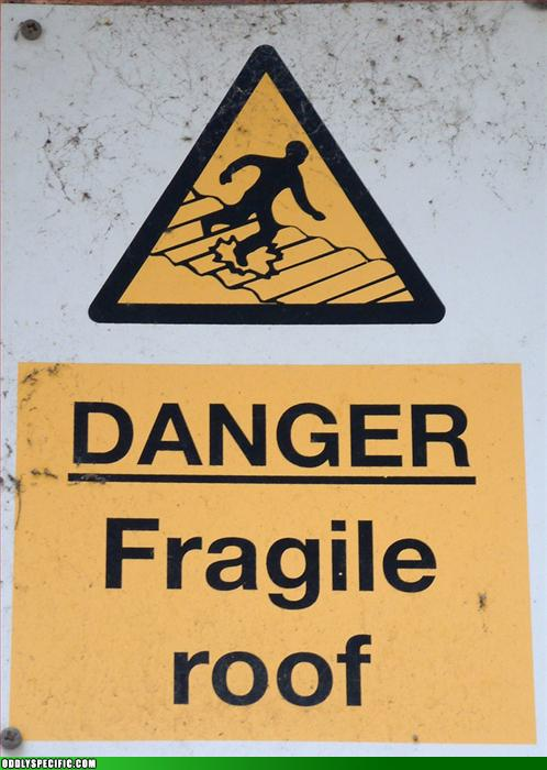 Danger: Fragile Roof