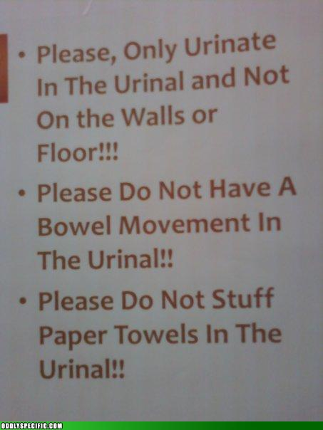Awkward Bathroom Etiquette