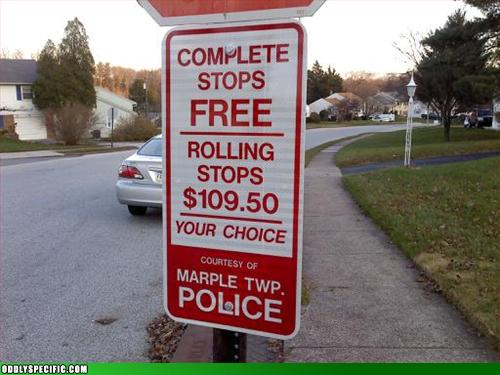 Funny Signs - Nice To See You Have Options