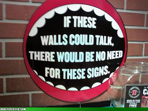 Funny Signs - A Very Good Point