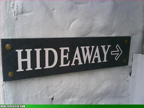 Funny Signs - Way to Give it Away