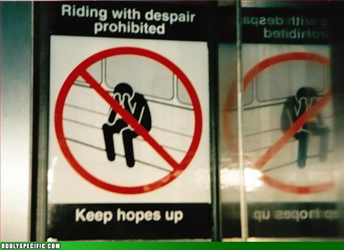 Funny Signs - Suck it Up, Pansy