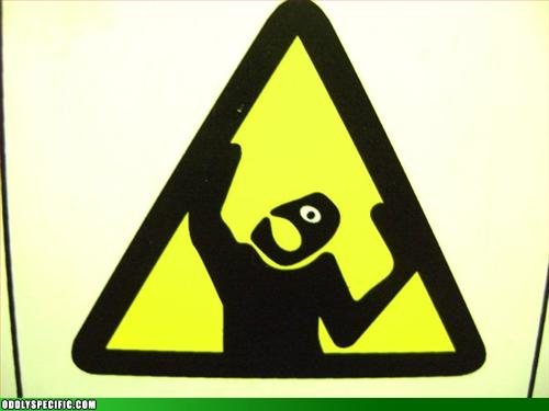 Funny Signs - No Mimes