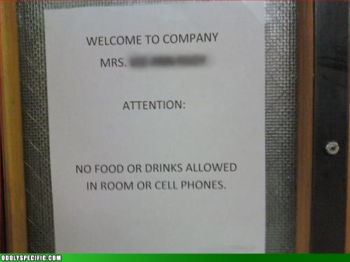 Funny Signs - But My Phone is Hungry!
