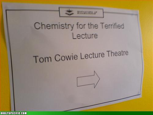 Funny Signs - The Terrified Lecture