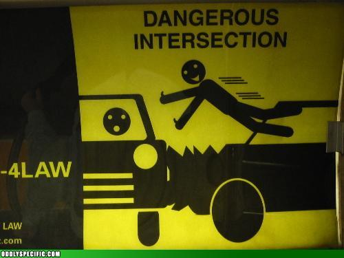 Funny Signs - He Flies Through the Air With the Greatest of Ease