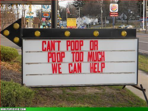 Funny Signs - WHOA!