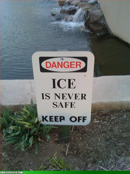 Funny Signs - Ice Ice Baby