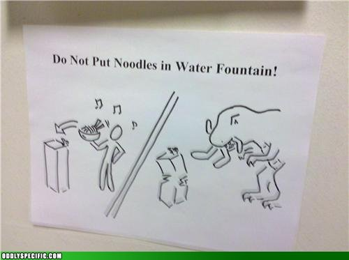 Funny Signs - Jurassic Punishment