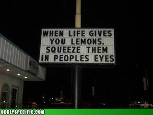 Every Villain Loves Lemons