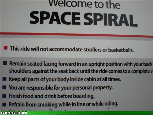 Funny Signs - No Basketballs