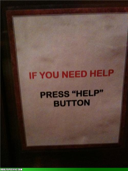 Obvious Button is Obvious