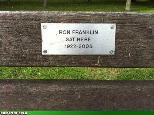 Funny Signs - Ron Franklin: Achiever