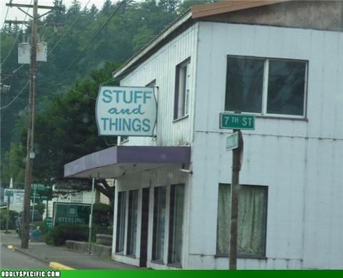 Funny Signs - Wow, Thanks For The Hint About What You Offer...