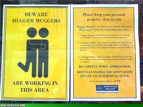 Hugger Muggers!