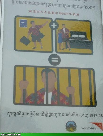 Welcome to Thailand, Pervert.